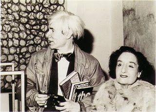 Maruja Mallo-Andy Warhol (Madrid 1982)