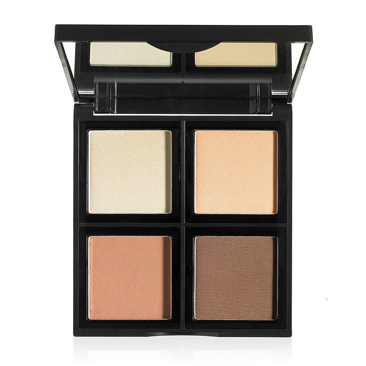 This beautiful contour palette holds 4 gorgeous shades to mix and match for a custom, defined look. The pigmented colors are designed for contouring, shading, sculpting, brightening and highlighting t