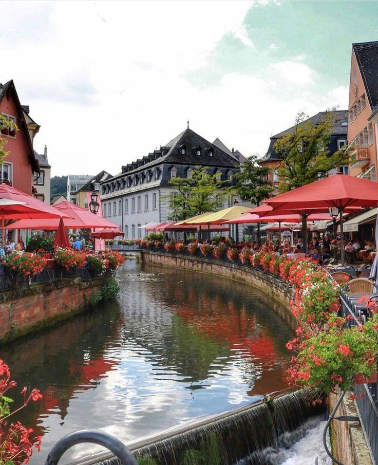 Saarburg, Germany.  For more great pins go to @KaseyBelleFox