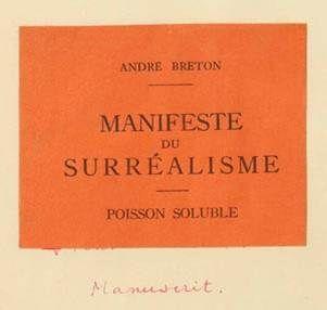 El Surrealismo Es un movimiento artístico y literario surgido en Francia a partir del Dadaísmo, en la década de los años 1920 en torno a la personalidad del poeta André Breton. Se concibe como una forma de olvidarse de la realidad y buscar una manera de que el hombre se encierre en sí mismo; por algo su significado se deriva de dos raíces griegas: sub, que significa por debajo, y realismo que implica lo que realmente es, o sea, la realidad.