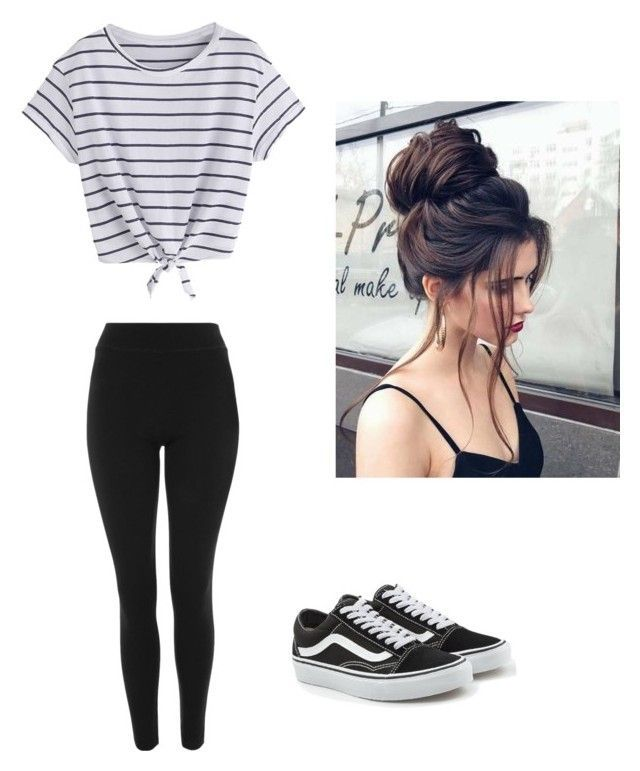 """Untitled #59"" by haileymagana on Polyvore featuring Topshop and Vans"