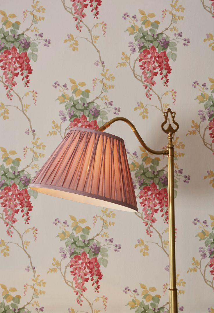 Laura Ashley Wall Lamp Shades : 17 Best images about Lamp shades on Pinterest Vintage fabrics, Inspiring women and Old lamp shades