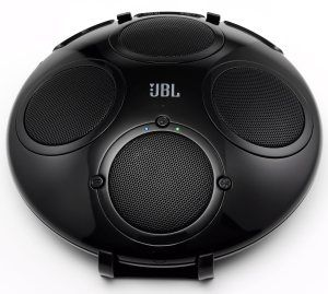 The JBL on Tour IBT Bluetooth Wireless Speaker will simply pause your music when a call is coming-in, http://outdoorbluetoothspeakers.com/bluetooth-speakers/whats-the-best-portable-bluetooth-speakers/