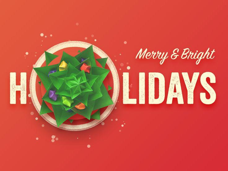 Christmas greeting card large