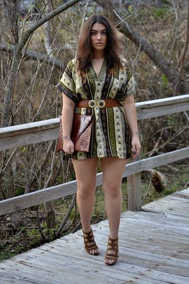 Maxi dress 5 2 zj belt routing