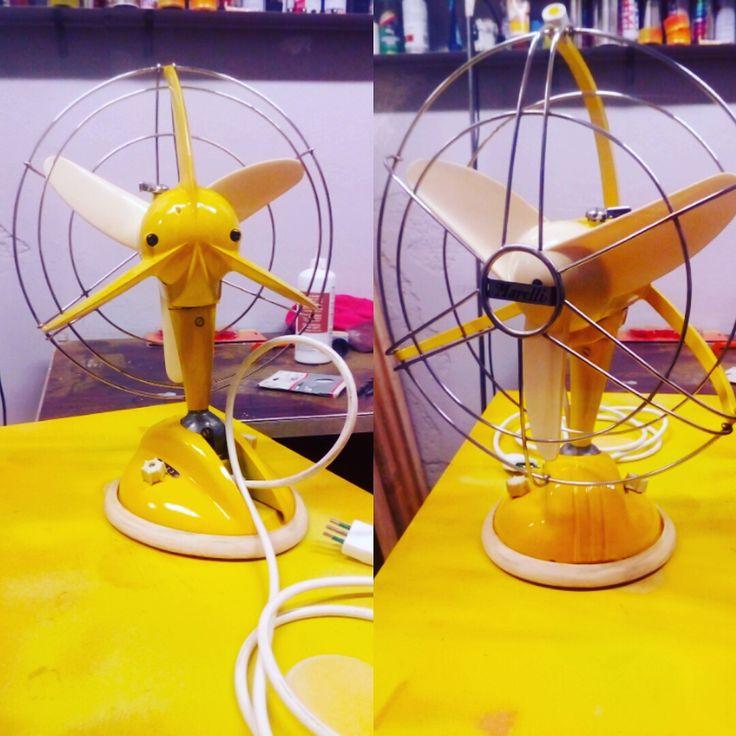 Ventilatore Marelli anni 60 revisionato e rimodernato