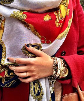 What does street style look like in Iran?