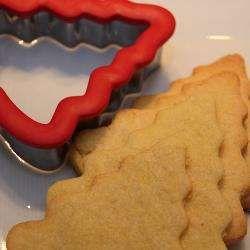 Biscoito de Natal amanteigado