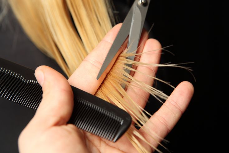 Did you know? Split ends are one of the biggest contributors to knots!  Making sure your ends are maintained will keep them in check and make your (hair) life better!