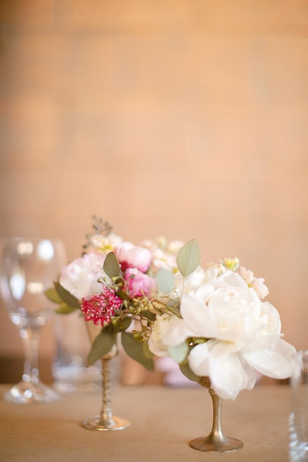 vases + table flowers