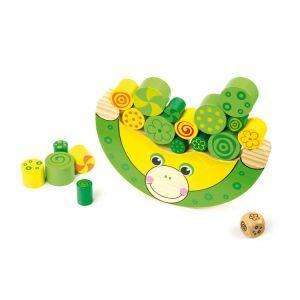 """Zabawki zręcznościowe """"Balansująca żaba"""" - MaxiZabawa.pl"""