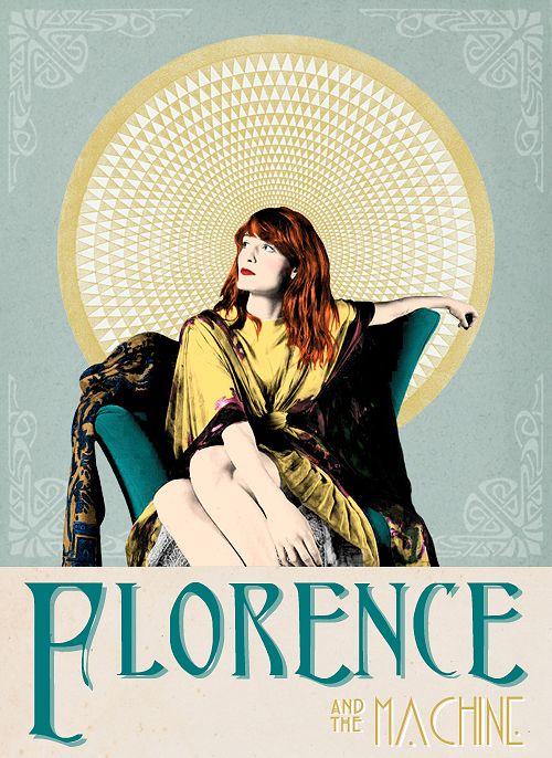 Florence + The Machine | http://eyes-ofmars.tumblr.com | #florence+themachine #illustration #ilustração