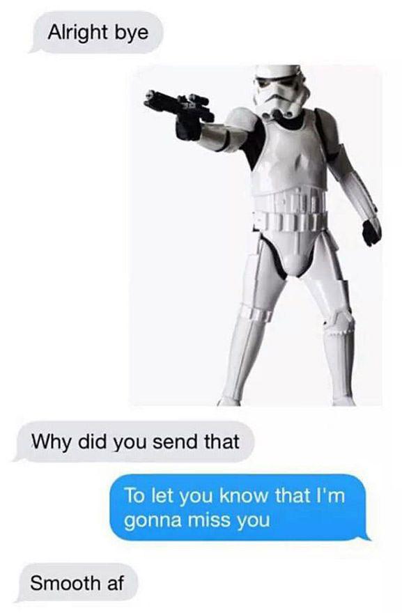 A Joke Only Star Wars Fans Would Understand Star Wars Humor Star Wars Jokes Funny Star Wars Memes