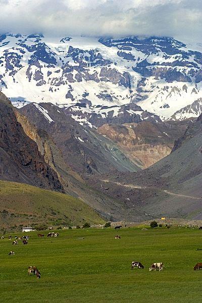 me recuerda mi infancia...Cajón del Maipo, Chile