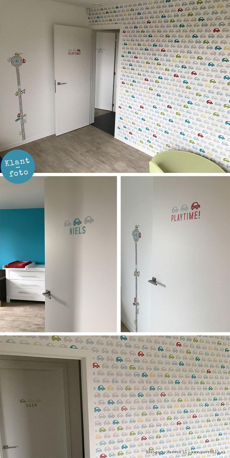 17 beste idee n over geschilderd behang op pinterest verf behang behangpapier schilderen en - Geschilderd slaapkamer model ...