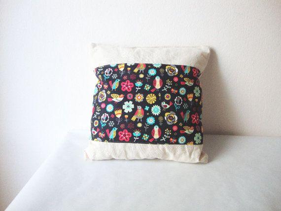 Decorative Pillow  cotton designer fabric / calico  by AKUGI, €10.00