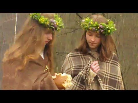 Lithuanian pagan folk song | Jurginių liaudies daina - Geras vakaras