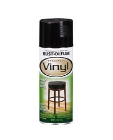 Spraypaint our old vinyl & metal mid-90s hand me down patio chairs.    RustOleum.com