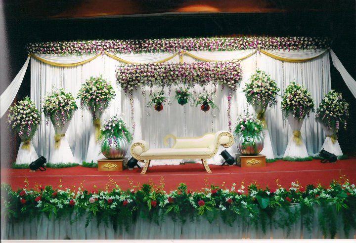 Bangalore Stage Decoration Design 350 Wedding Flower Decoration
