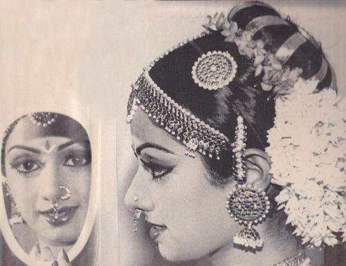 Sridevi, c. late 1960s. Before there was Aishwarya, before there was Deepika, Kajol, or Kareena...