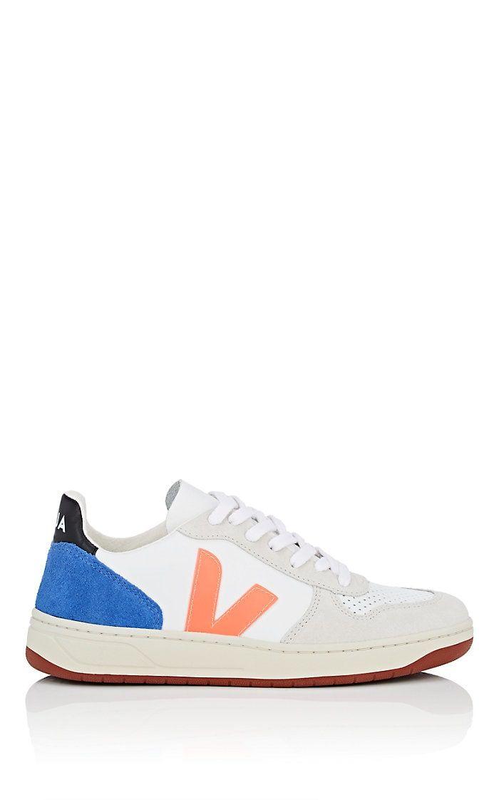 VEJA V-10 Leather \u0026 Suede Sneakers