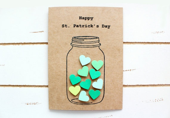 Love Heart in a Jar Handmade Stationary Cards St by FancifulChaos, $3.50