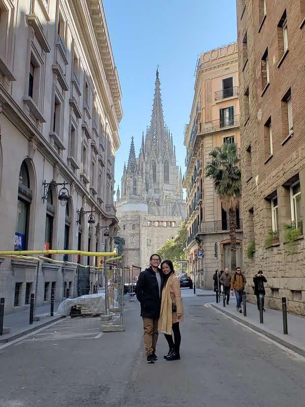 Barcelona Spain Barcelona Street View Scenes