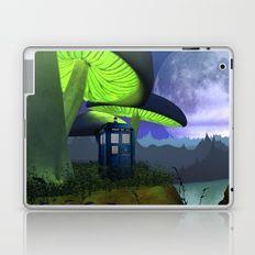 Tardis in the planet of alien Laptop & iPad Skin