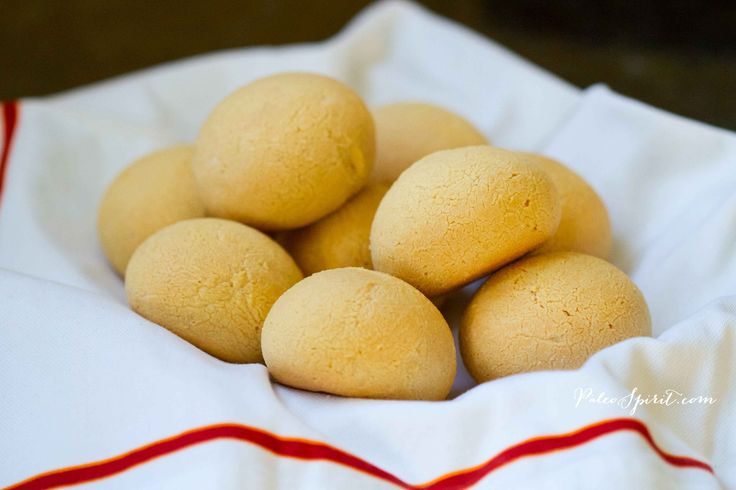 Paleo Dinner Rolls: Paleo Spirit - ■1 cup tapioca flour (starch)   ■1/4 – 1/3 cup coconut flour   ■1 teaspoon sea salt   ■1/2 cup warm water   ■1/2 cup olive oil   ■1 large egg, whisked