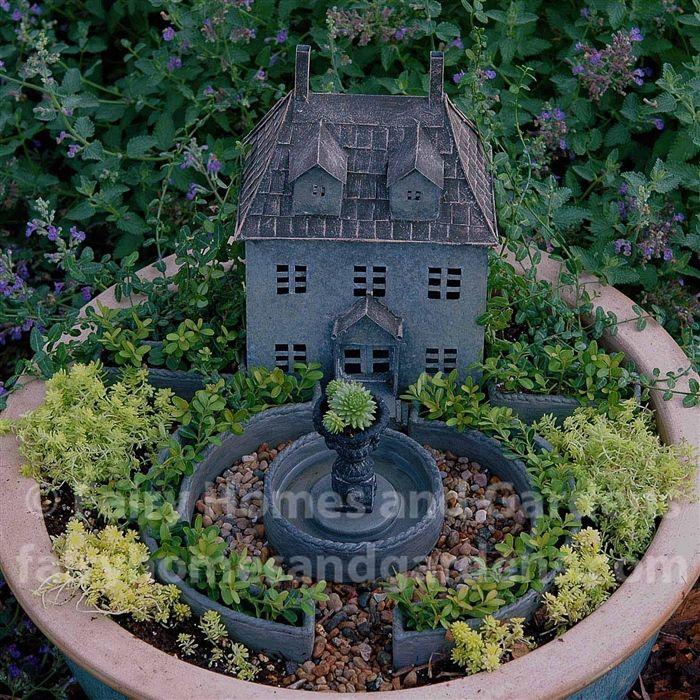 Fairy Homes and Gardens - Classical Miniature Garden Assortment, $87.25 (https://www.fairyhomesandgardens.com/classical-miniature-garden-assortment/)