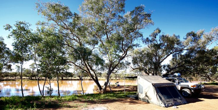 Campsite at Eringa Waterhole.  Didn't see a sole for two days and two nights (unless someone passed by when Jess and I were out exploring)