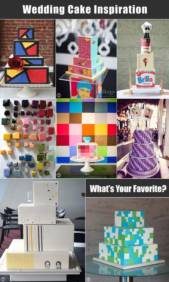 Pixel Art Wedding Cake : 1000+ images about Pop art wedding on Pinterest Dessert ...