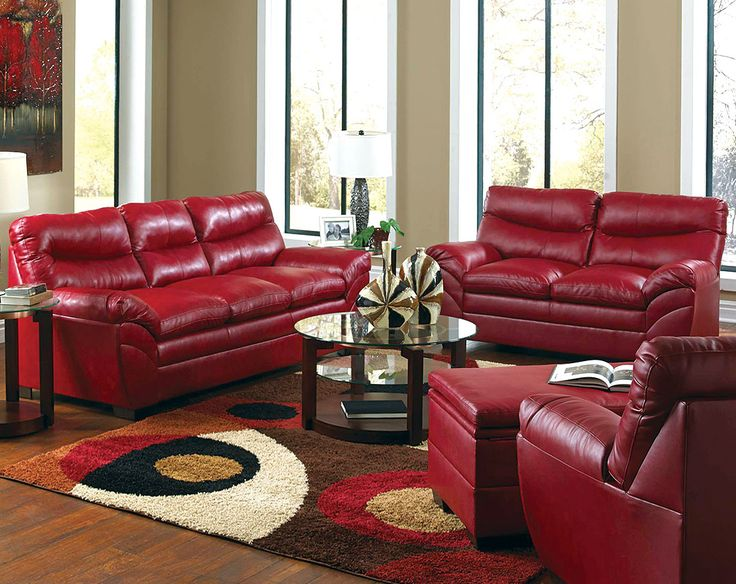 Attractive Red Leather Living Room Chair | Http://intrinsiclifedesign.com/ | Pinterest  | Leather Living Rooms, Living Room Chairs And Living Rooms