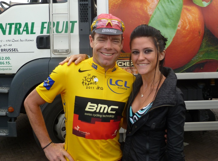 Cadel Evans, I never thought he would be so amazingly kind! Great guy...