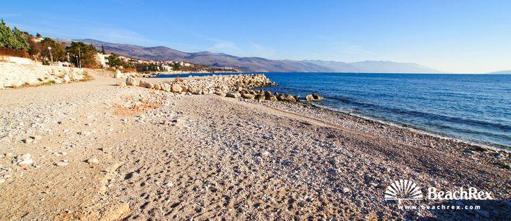 Beach Lopar - Novi Vinodolski - Kvarner - Croatia