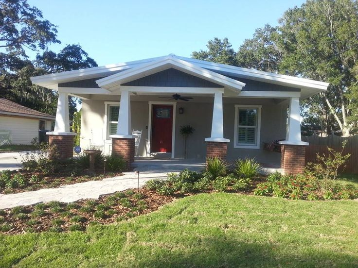 Top 106 ideas about cottages bungalows on pinterest for Craftsman homes for sale in florida