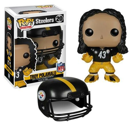 Troy Polamalu, the greatest safety in football history on the greatest football team in history. Go Steelers