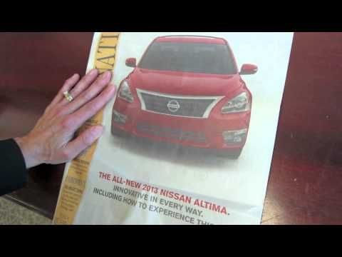 Nissan Altima advertising case study about AR and its use with newspapers. Watch this video by Newspapers Canada to learn how Nissan achieved a click-through rate of 42% for their interactive ad and how Nissan managed to increase test drives for the Nissan Altima by 65%.