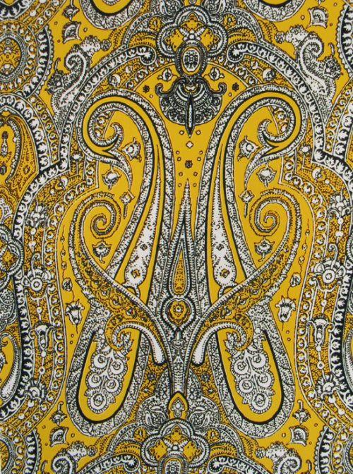 佩兹利纹样 - paisley pattern