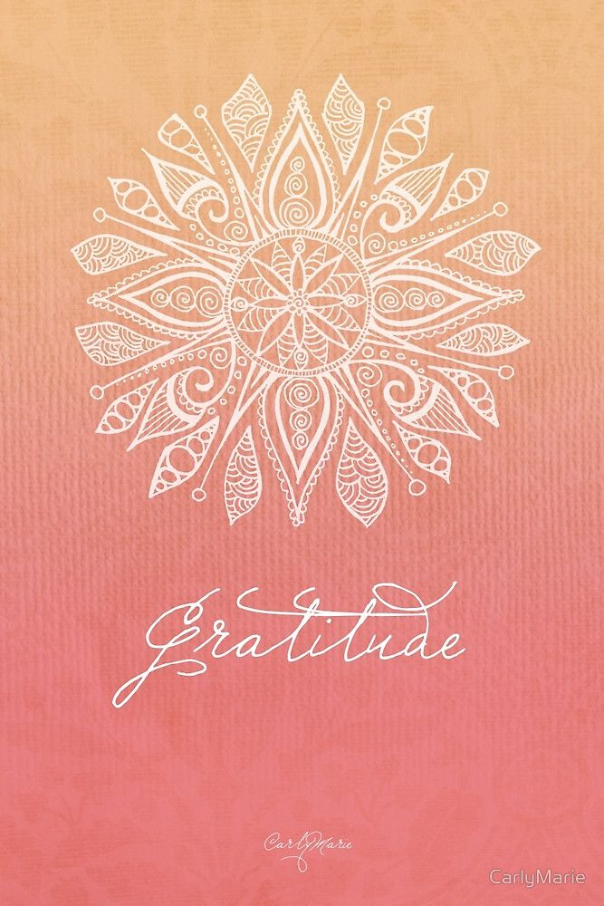 «Gratitude» de CarlyMarie