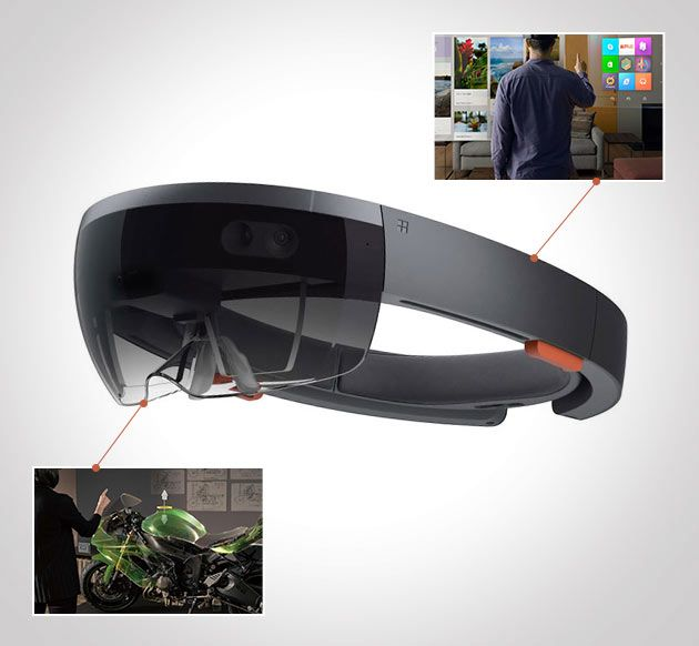 """Project HoloLens - A seven-year project in the making, Project HoloLens is the brainchild of Alex Kipman, the very same man who brought us Microsoft's Kinect technology. This augmented reality headset is being dubbed as """"the first fully untethered holographic computer"""" and it's pretty nasty."""