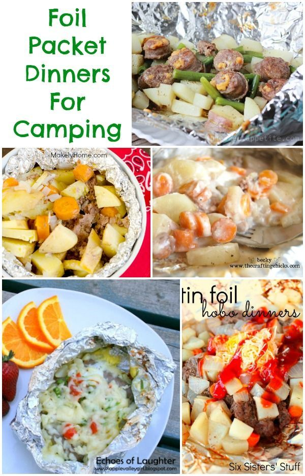Foil Packet Recipes #Camping #Recipes http://www.momsandmunchkins.ca/2014/07/01/foil-packet-recipes/