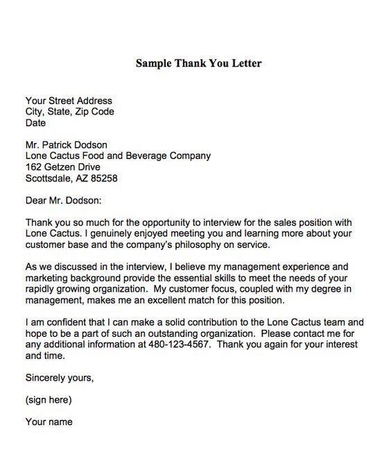 The 25+ best Short resignation letter ideas on Pinterest Two - thank you for the interview letter