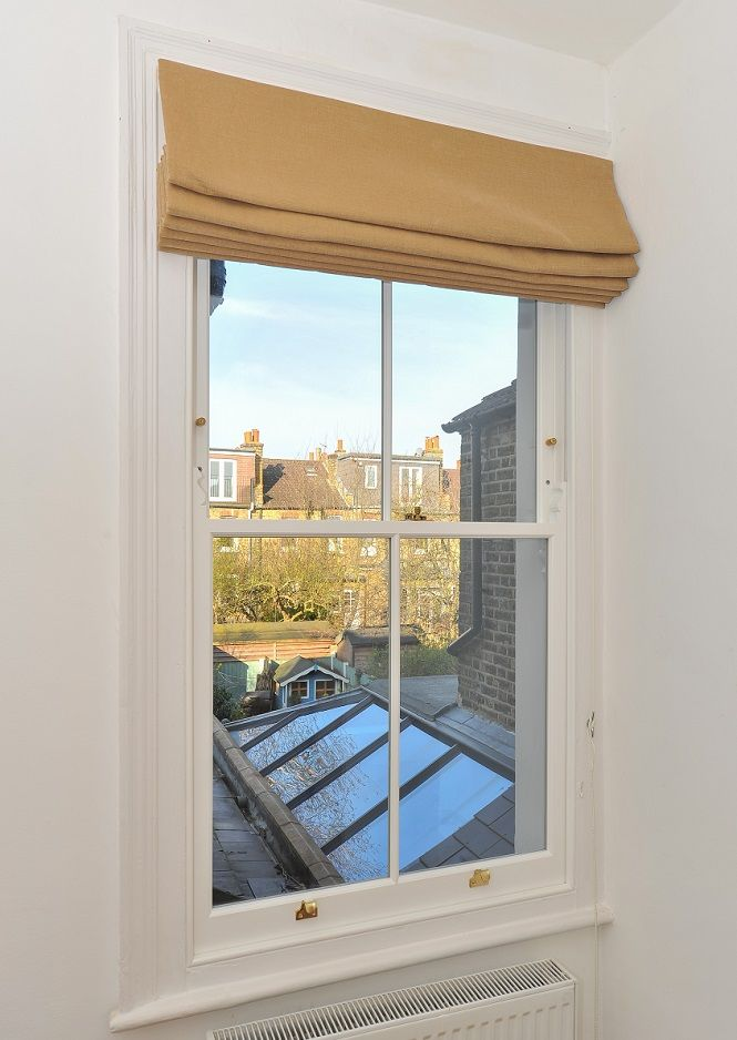 Timber sash window manufactured and installed by The Sash Window Workshop #MadeInBritainHour