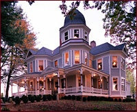 Reed House of Asheville, NC.  8th Spookiest haunted house in the US