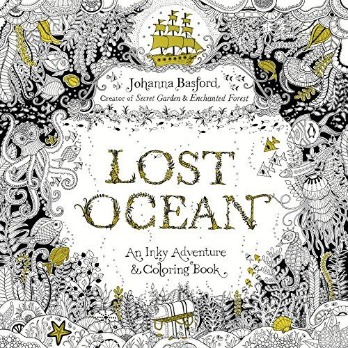Lost Ocean: An Inky Adventure and Coloring Book - Livros em inglês na Amazon.com.br