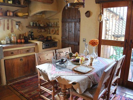 Whimsical fairytale kitchen