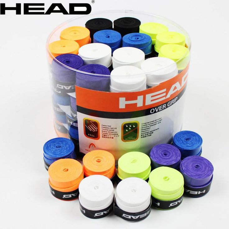 10pcs/lot Head Tennis Racket Anti-skid Sweat Absorbed Soft Wrap Grips