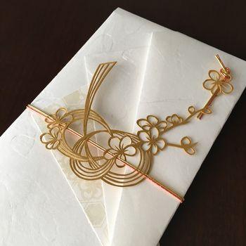 mizuhike ornamental belly band around folded envelop ... 大切なお祝いなら手を抜かないで!人と差がつく素敵なご祝儀袋集めました