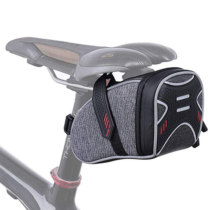Camgo Bike Wedge Saddle Bag Mountain Road Bike Seat Pack Bicycle